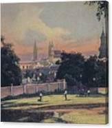 Nitra - Nyitra Slovakia, Cca 1900 Canvas Print