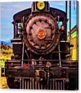 No 29 Virgina Truckee Train Canvas Print