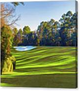 No. 5 Magnolia 455 Yards  Par 4 Canvas Print