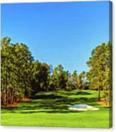 No. 8 Yellow - Jasmine 570 Yards Par 5 Canvas Print