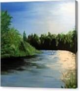 No Fisherman Canvas Print