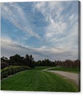 Pathway To The Sky Canvas Print