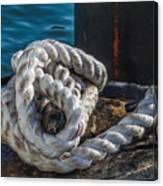 Ship Rope Canvas Print