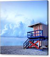 No Lifeguard On Duty Canvas Print