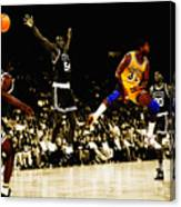 No Look Pass 3 Canvas Print