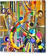 No Meio Do Furacao Canvas Print