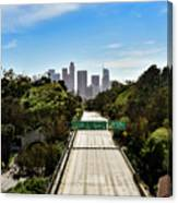 No More Cars In Los Angeles. Canvas Print