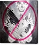 No More Massacres Canvas Print