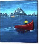 No Paddle Canvas Print