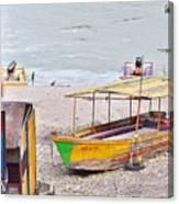No Swimming - Rishikesh India Canvas Print