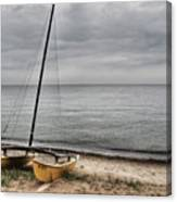 No Wind Today Canvas Print