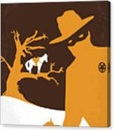 No202 My The Lone Ranger Minimal Movie Poster Canvas Print