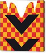 No482 My Speed Racer Minimal Movie Poster Canvas Print