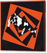 No560 My Twister Minimal Movie Poster Canvas Print