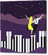 No756 My La La Land Minimal Movie Poster Canvas Print