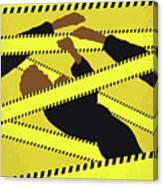 No816 My Rush Hour Minimal Movie Poster Canvas Print