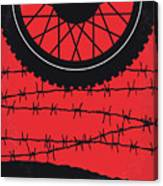 No958 My The Great Escape Minimal Movie Poster Canvas Print
