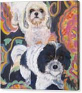 Noah And Kobe Canvas Print