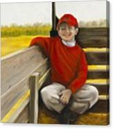 Noah On The Hayride Canvas Print