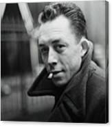 Nobel Prize Winning Writer Albert Camus Unknown Date #2 -2015 Canvas Print