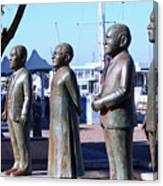 Nobel Square  /  To Honor South Africa's Four Nobel Peace Prize Laureates Canvas Print