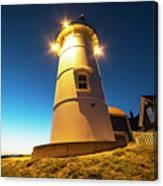 Nobska Light Falmouth Ma Cape Cod Window Shadow Canvas Print
