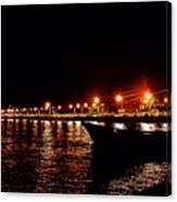 Nocturne Boat Canvas Print