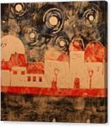 Nocturne in Florence Canvas Print