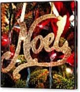 Noel Ornament Canvas Print