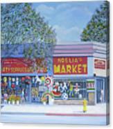 Noelia's Market Canvas Print