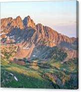 Nokhu Crags Sunrise Canvas Print