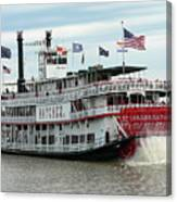 Nola Natchez Riverboat Canvas Print