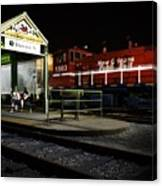 New Orleans Train Stop Canvas Print