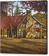 Nolan Corners Farmhouse Canvas Print