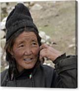 Nomads Of Ladakh Canvas Print