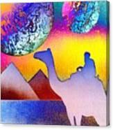 Non-stop To Cairo Canvas Print