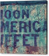 Noon American Buffet Canvas Print