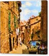 Noon In Sienna Canvas Print