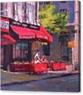 Noon Refreshments Canvas Print