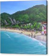 Noosa Fun Acrylic Painting Canvas Print