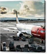 Norwegian Jet Canvas Print