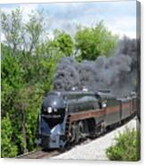 Norfolk and Western Class J #611 Canvas Print