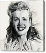 Norma Jean Painting Canvas Print