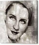 Norma Shearer, Actress Canvas Print