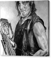 Norman Reedus Canvas Print
