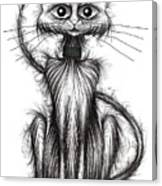 Norman The Cat Canvas Print