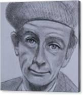 Norman Wisdom Canvas Print