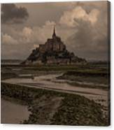 Normandy Clouds Canvas Print