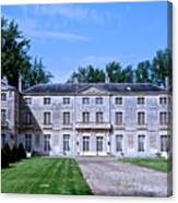 Normandy Manor House Canvas Print