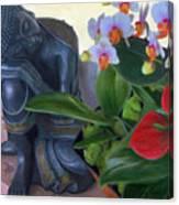 Norma's Buddha Canvas Print